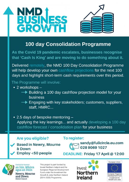 100 Day Consolidation Programme Launched for Local Businesses