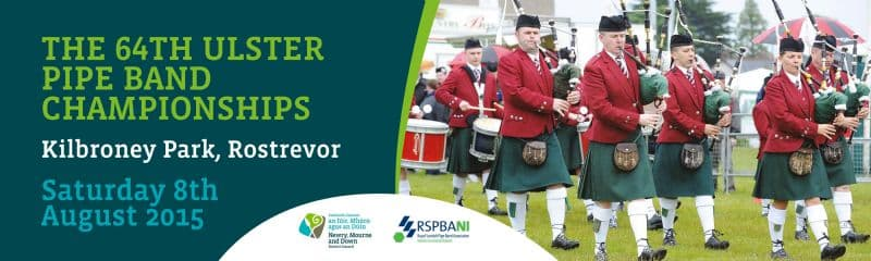 THE 64TH ULSTER PIPE BAND CHAMPIONSHIPS