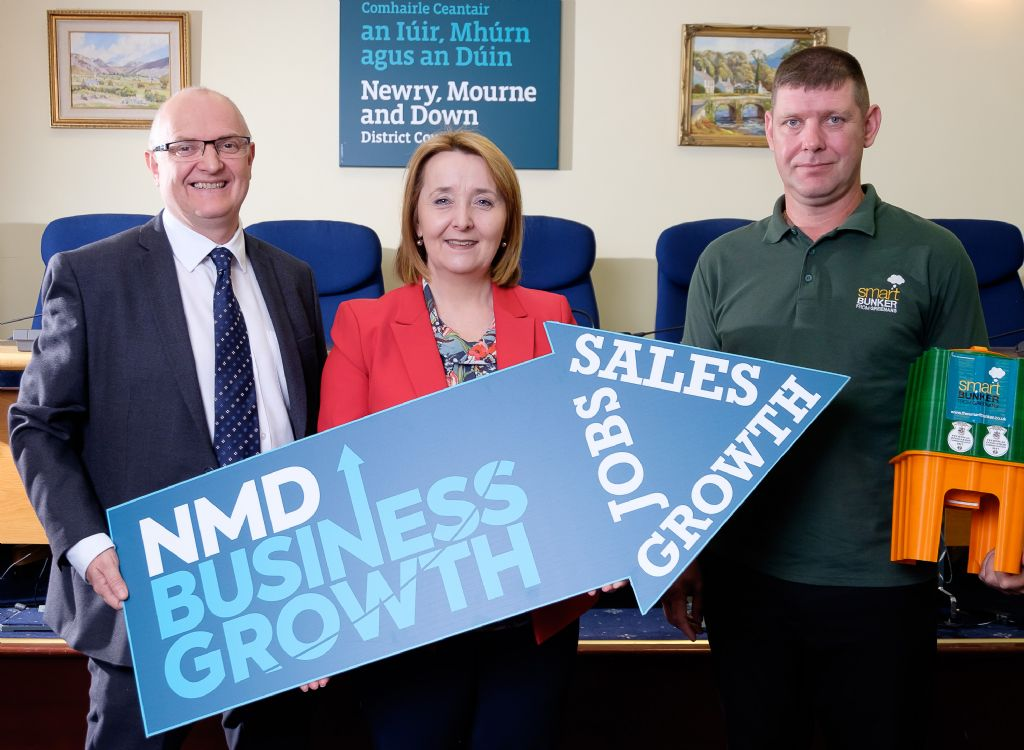 3 - 100th business - pic - nmddc and greenans products
