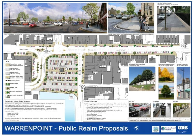 Warrenpoint Public Realm Scheme – Works Now Underway