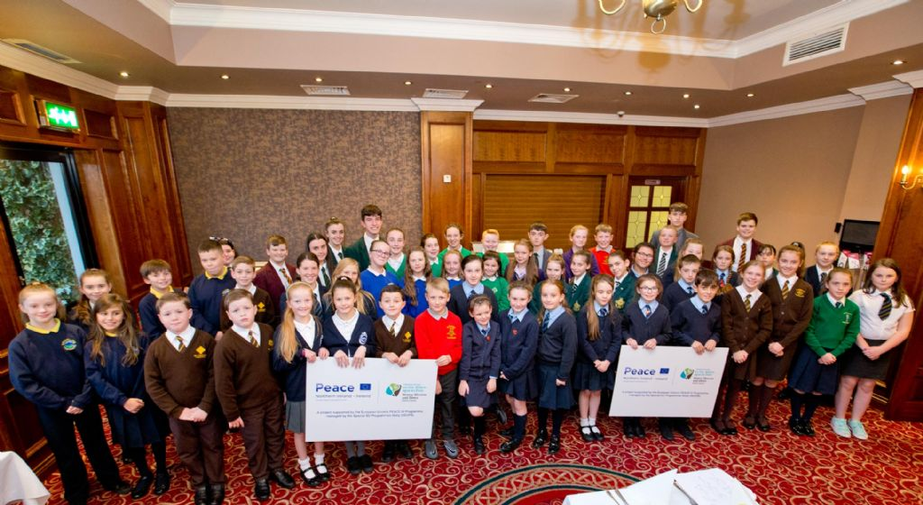 Cross Community Schools Choir Lifts Its Voice in Song to Help Children's Cancer Charity