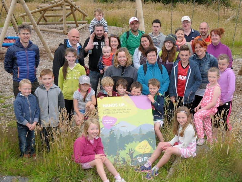 Mourne Forests Volunteer Team launched at Bunkers Hill Community Barbeque