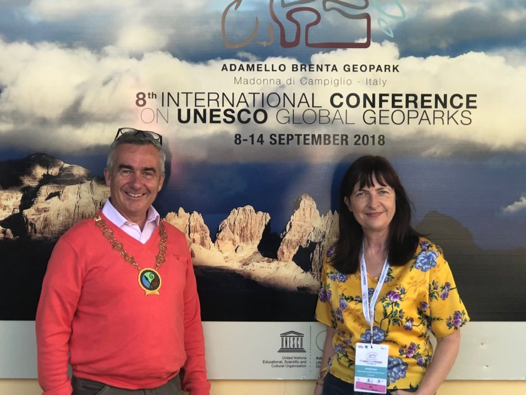 Council presents 'Two Oceans' Geopark on World Stage