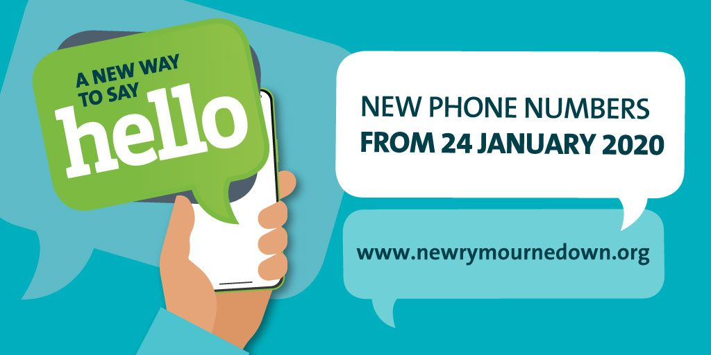 Council Telephone Numbers to Change from 24 January 2020