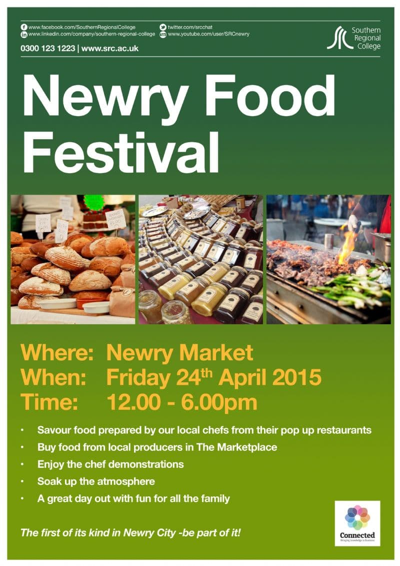 Newry's FIRST Food Festival – Be Part of It!