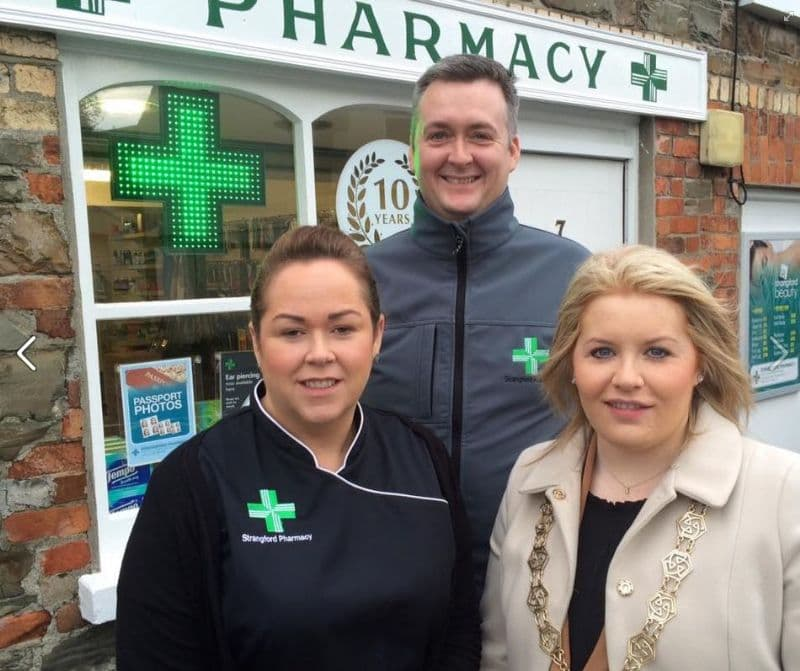 COUNCIL CHAIR NAOMI BAILIE SUPPORTS THE ASK YOUR PHARMACIST INITATIVE