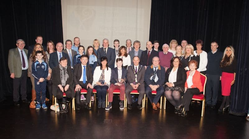 Chairperson Hosts Reception for Scór na nÓg All-Ireland Champions