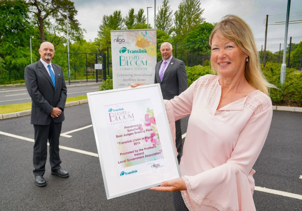 Local Winners Recognised in Special 'Translink Ulster In Bloom' Competition Presentation
