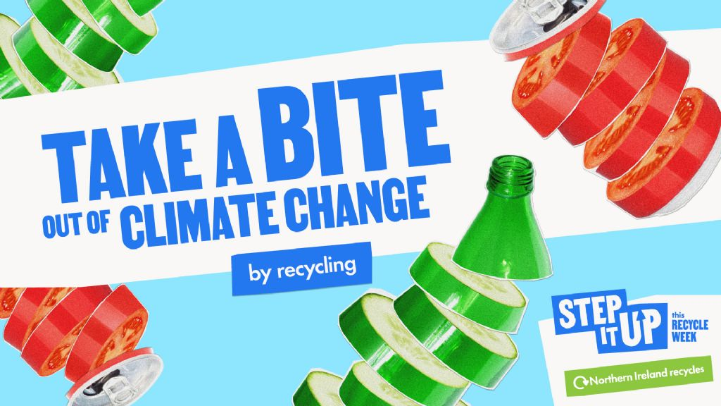 Council is 'Stepping It Up' in The Fight Against Climate Change for Recycle Week 2021