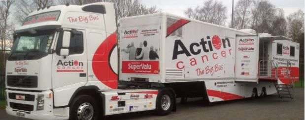 Action Cancer Bus Health Checks In Castlewellan Area