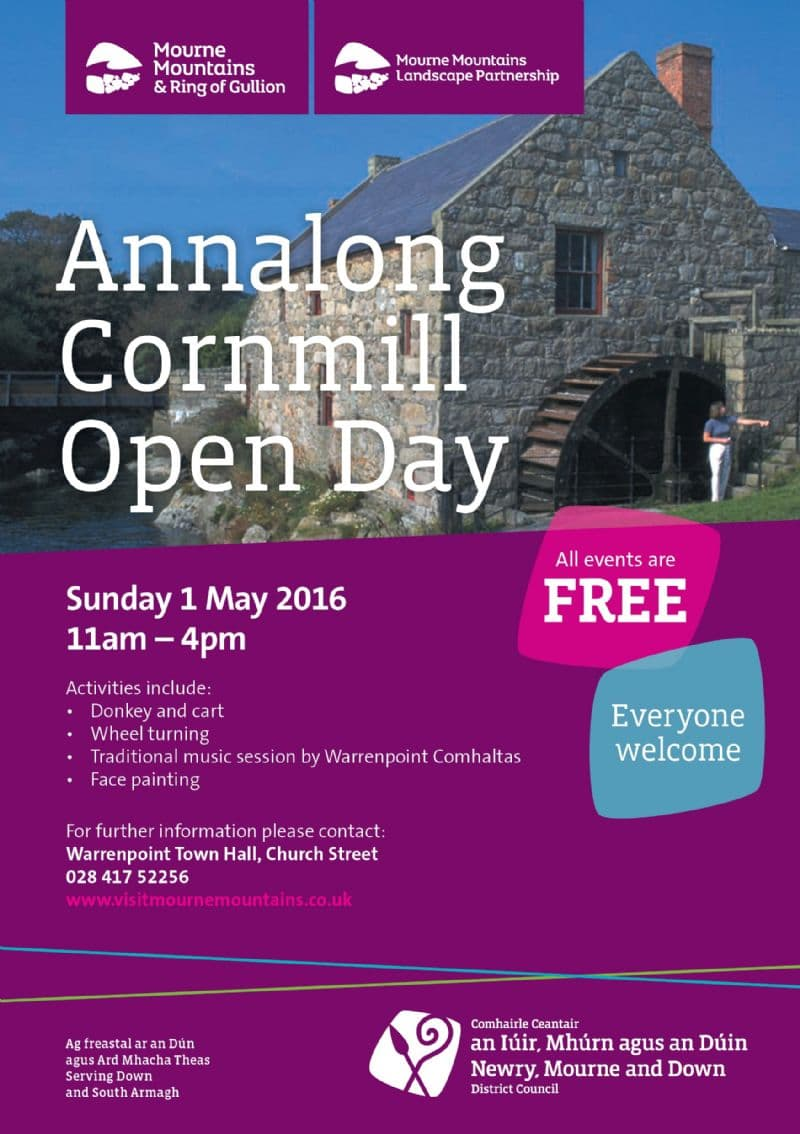 Annalong Cornmill Open Day