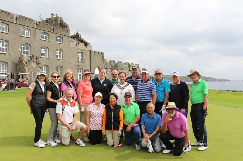 International Golfers Welcomed to Ardgalss