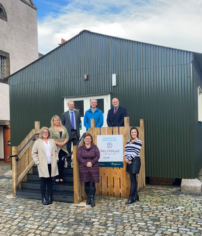 Council Chairperson Launches Ballykinlar History Hut Experience at Down County Museum