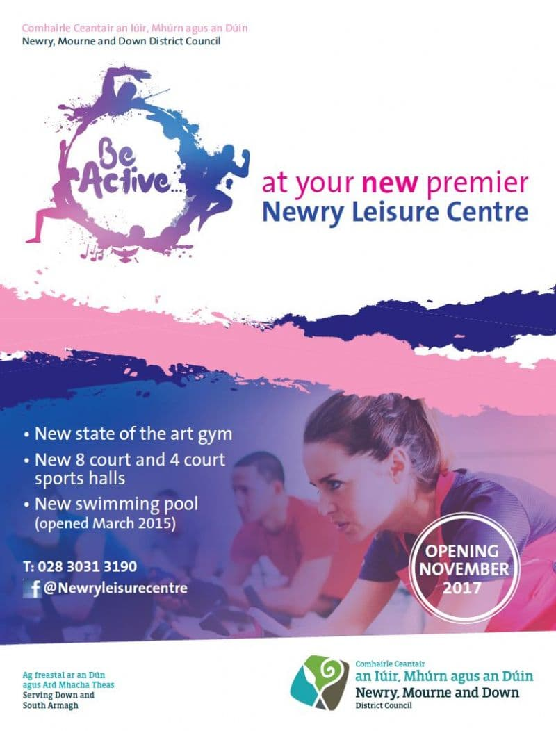 'Be Active' with Newry, Mourne and Down District Council