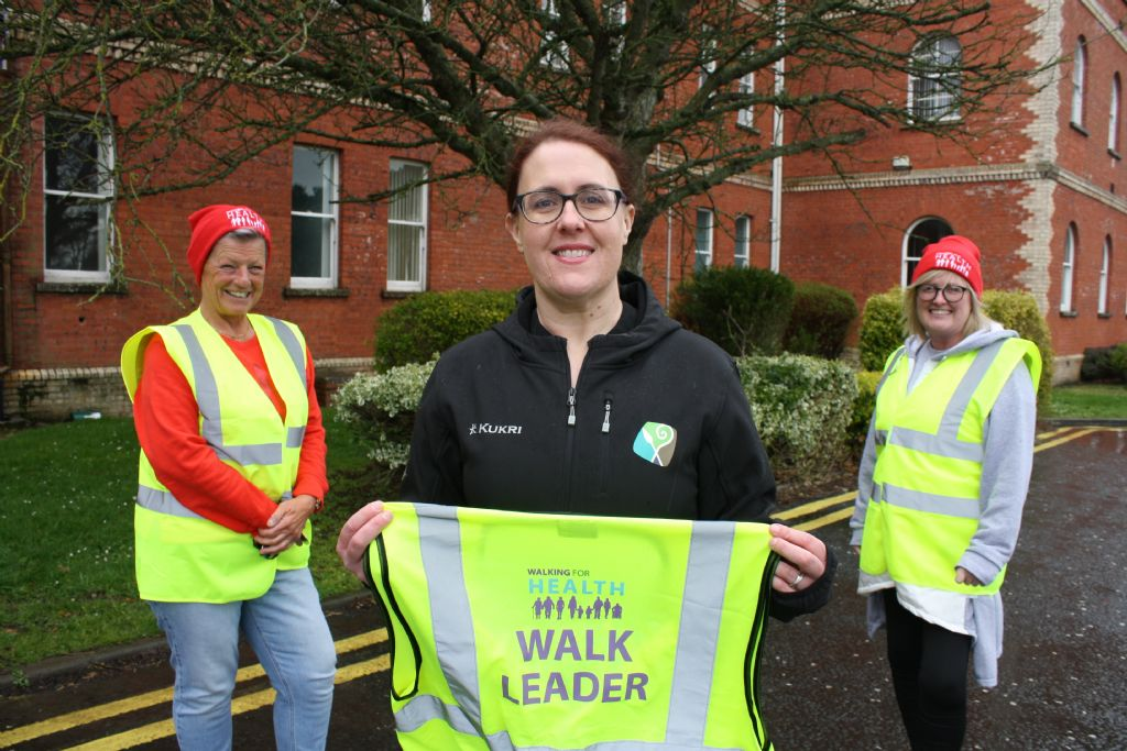 Council's Be Active for Health Programme Helps Produce Walking Leaders