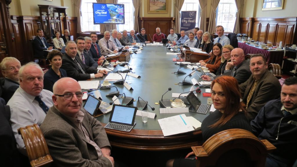 Belfast Region City Deal Council Panel meets for first time