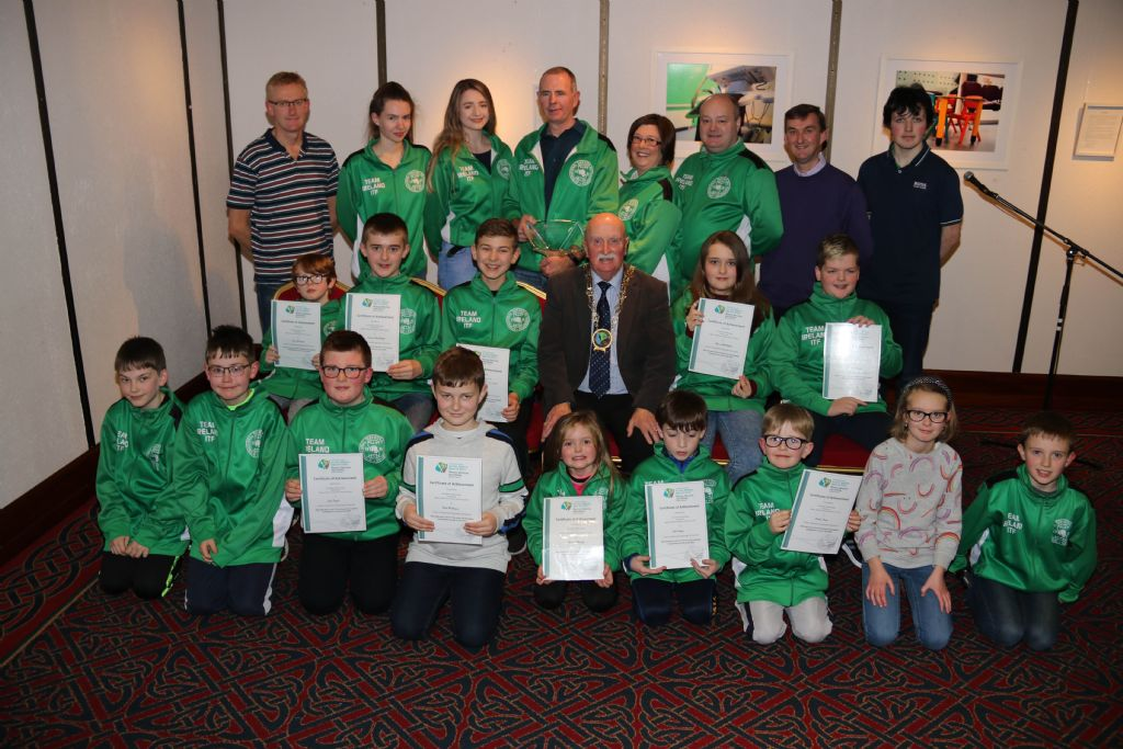 Chairperson welcomes Bessbrook/Cloughreagh Tae Kwon Do Club