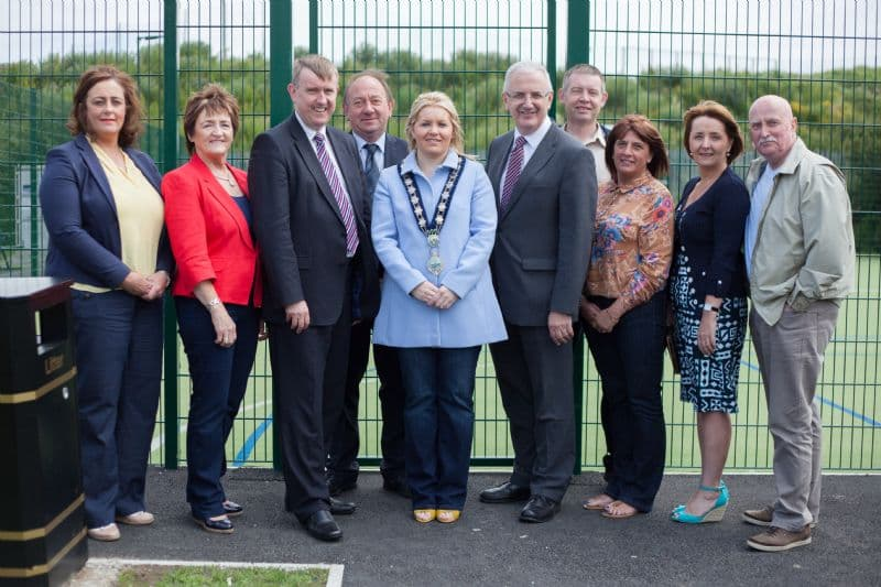 Storey scores with new £85,000 games area for Bessbrook