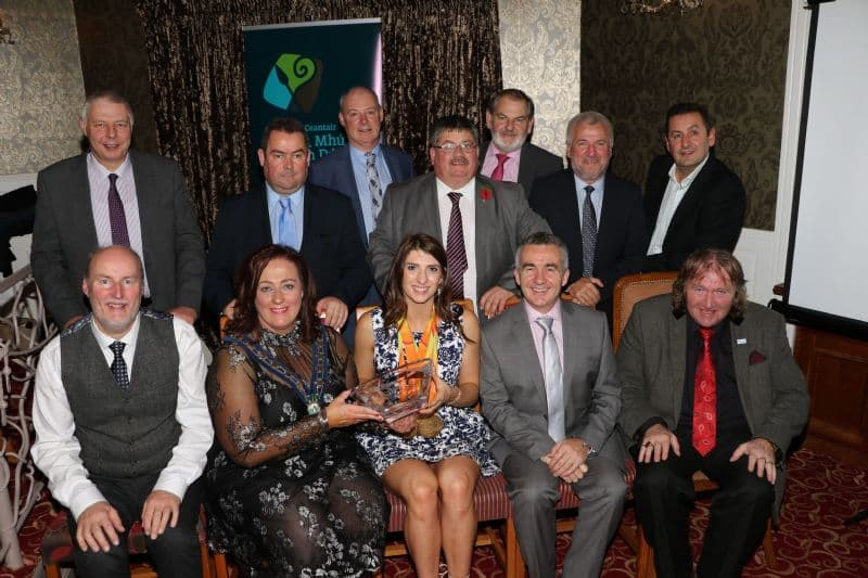 Newry, Mourne and Down District Council Hosts Civic Reception For Bethany Firth
