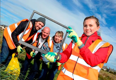 Big Beach Clean Hits Tyrella