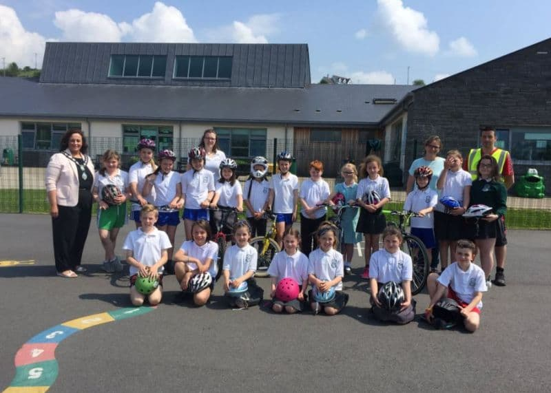Schools Gear Up for Bikeability Cycle Training