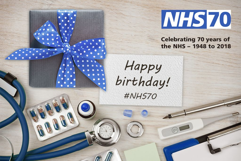 Chairman Extends Personal Message in Celebration of NHS 70th Anniversary
