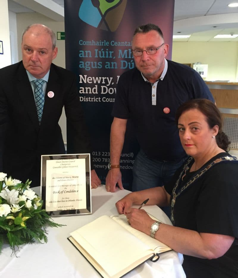 Book of Condolence for Those Who Lost Their Lives in Orlando, Florida