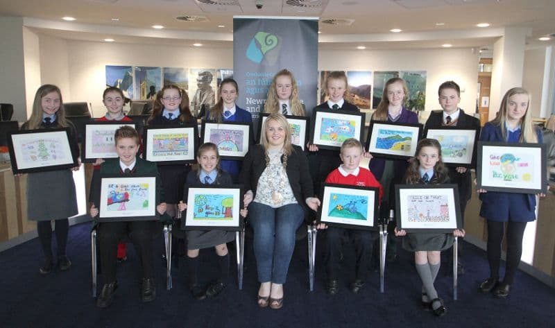 Council Chair Congratulates Environmental Poster Competition Winners