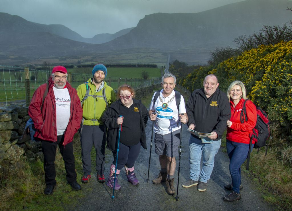 Newry, Mourne and Down District Council Chairman Launches Charity Walk