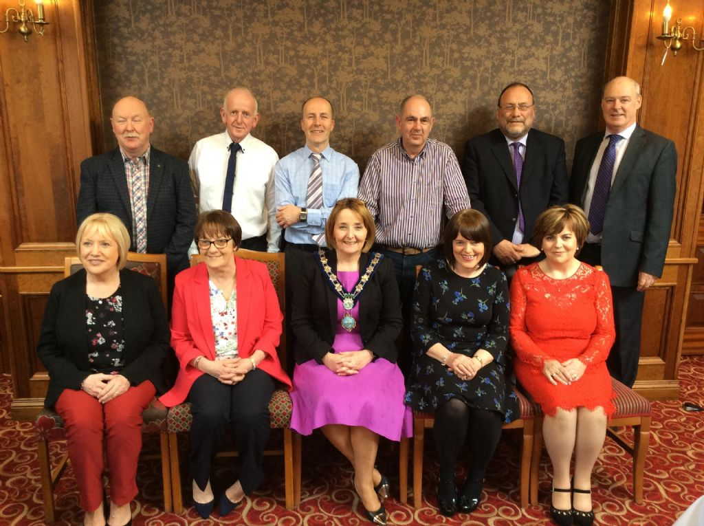 Chairperson Hosts Long Service Awards