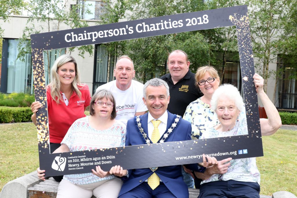 Chairman Announces Charities for 2018/2019