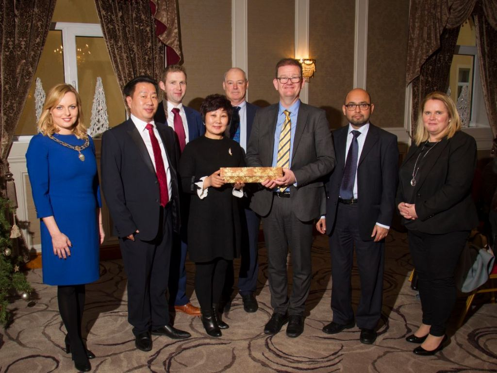 Council Builds on International Relations with China
