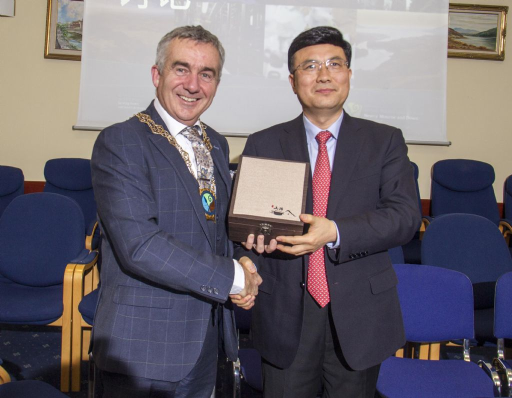 chinese delegation visit newry 20