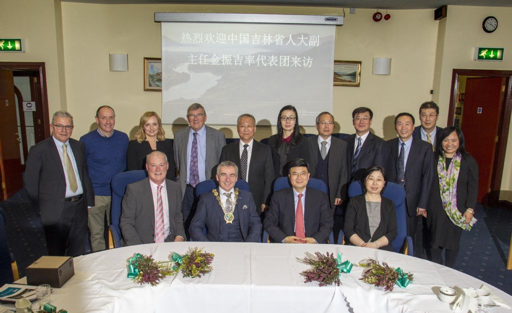 Council Welcomes Officials from City of Changchun to Newry