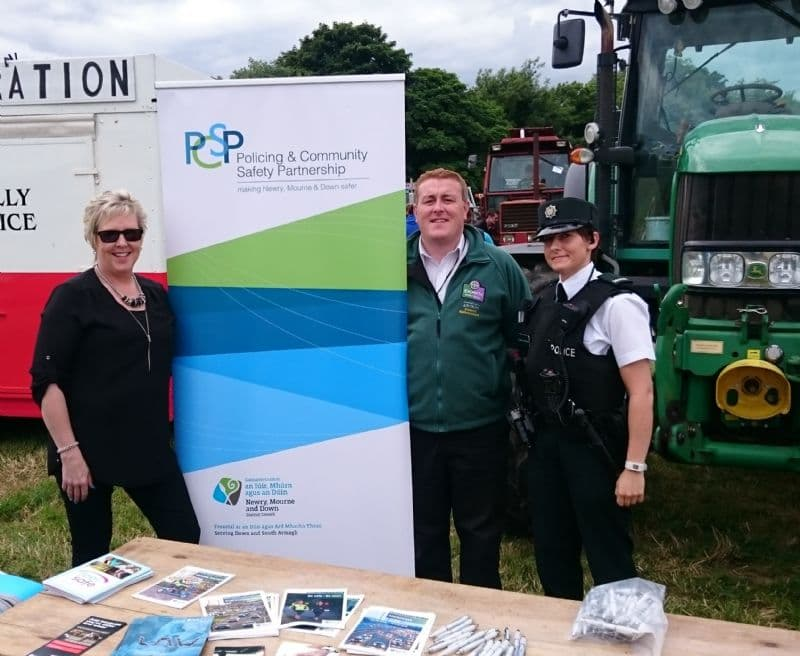 NEWRY, MOURNE AND DOWN PCSP ATTEND SUMMER RURAL EVENTS