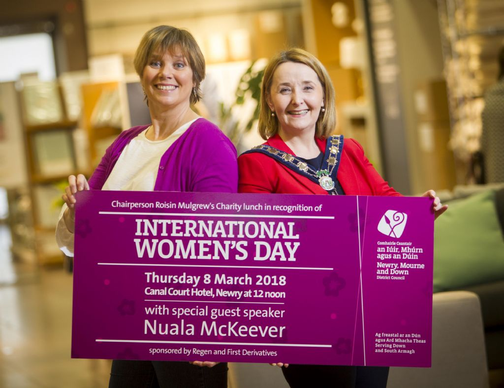 Comedian Nuala McKeever To Speak At Charity Fundraising Lunch