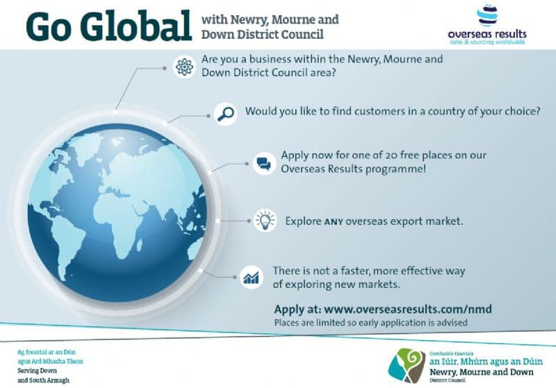 Newry, Mourne and Down District Council Helps Companies Go Global