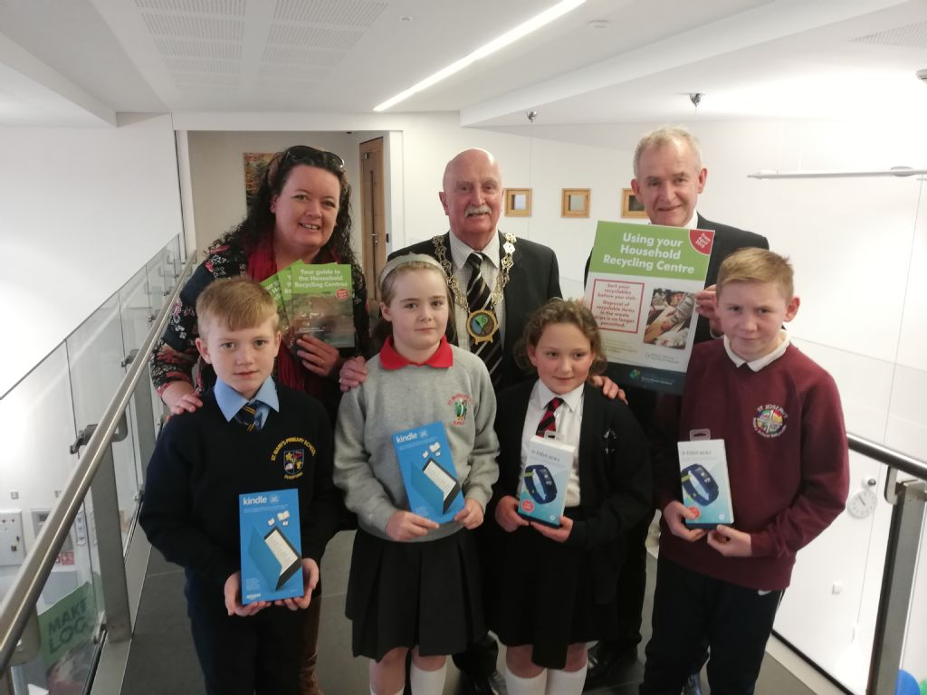 Council Congratulates Winners of the Schools' Household Recycling Centre Competition