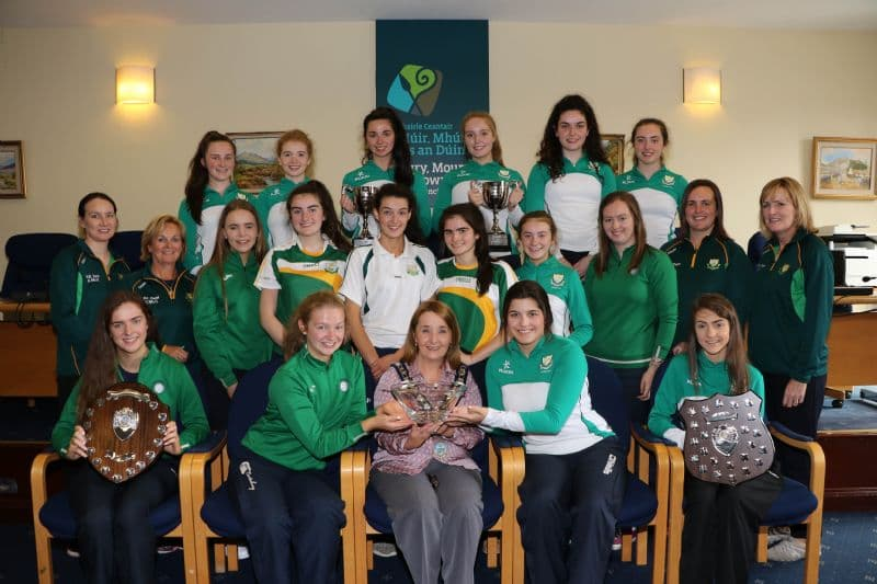 Chairperson Hosts Reception for Local Netball Champions