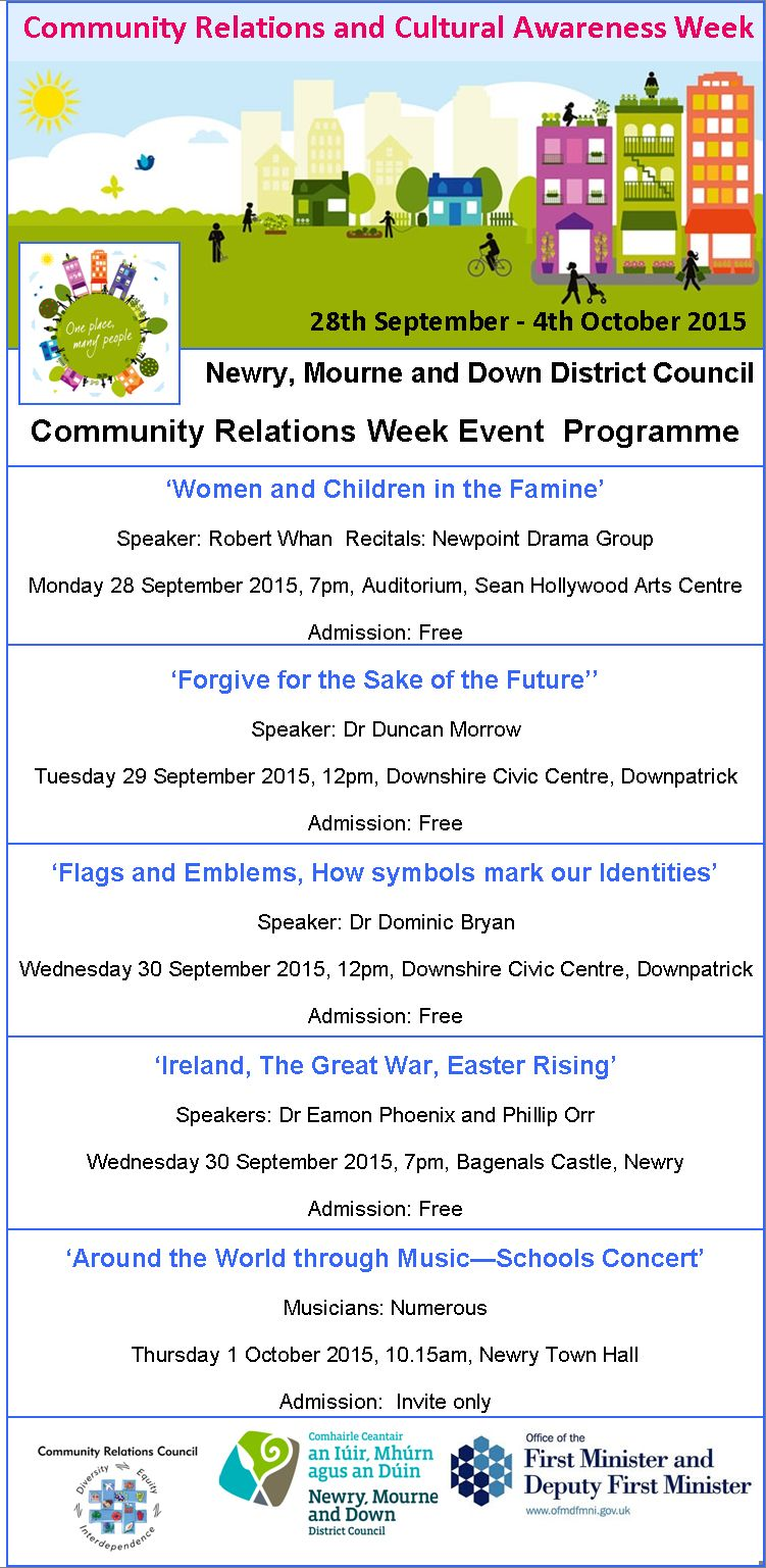 COUNCIL SUPPORTS COMMUNITY RELATIONS WEEK 2015