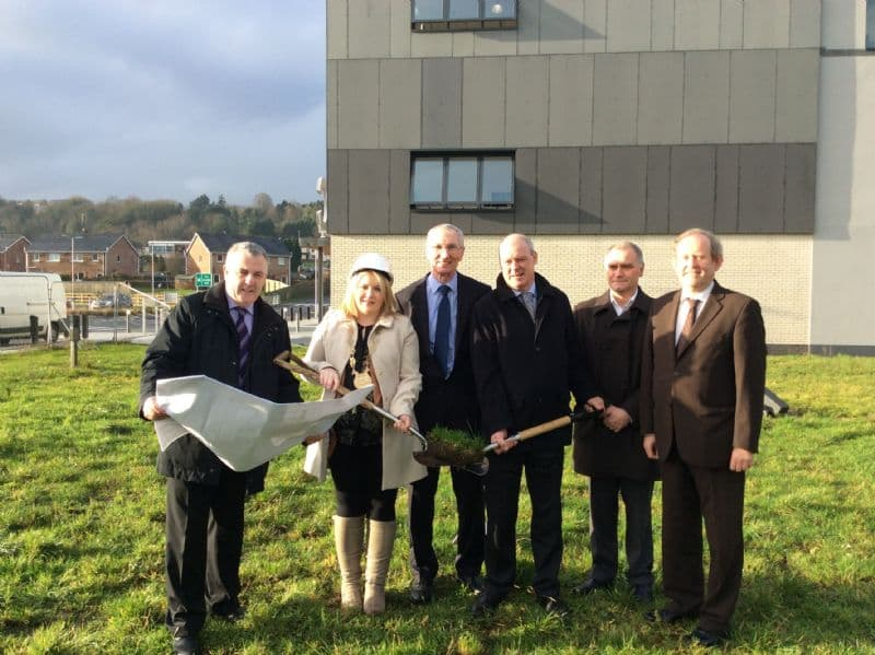 Official Cutting of First Sod at Newry Leisure Centre