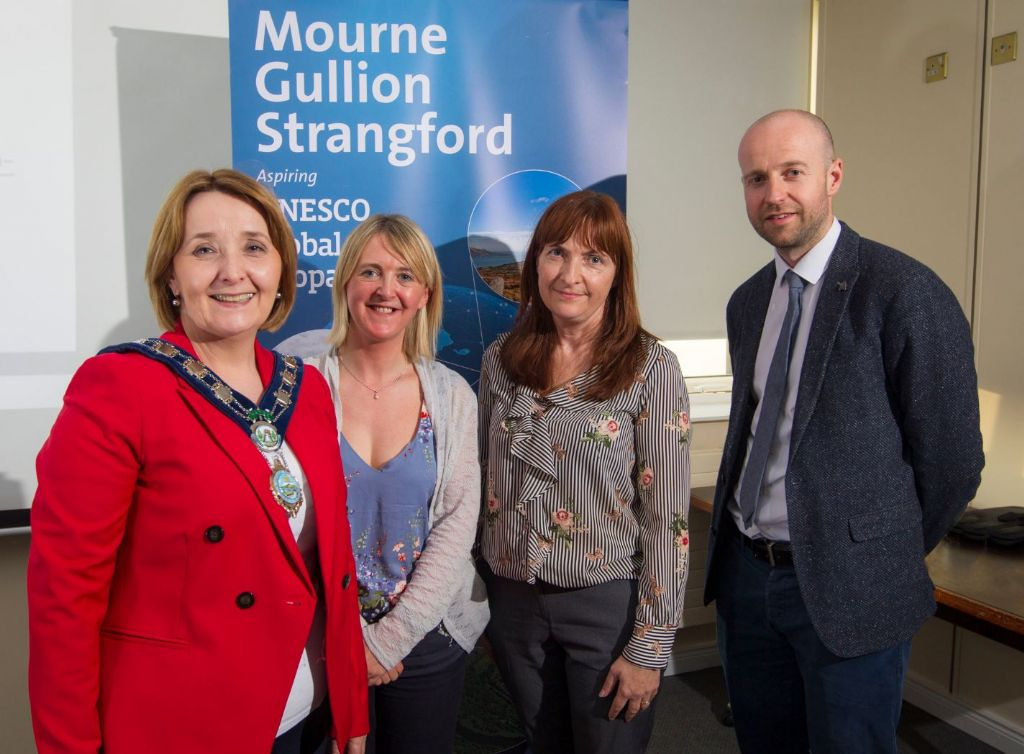 Council Hosts Inspirational 'Tale of Two Oceans' Lecture To Support UNESCO Global Geopark Status Proposal