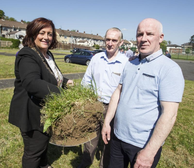 Launch of Drumalane Quayside Close Community Building