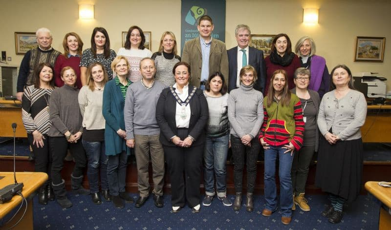 Chairperson Hosts Reception For Teachers Involved In Erasmus Sea Breeze Project