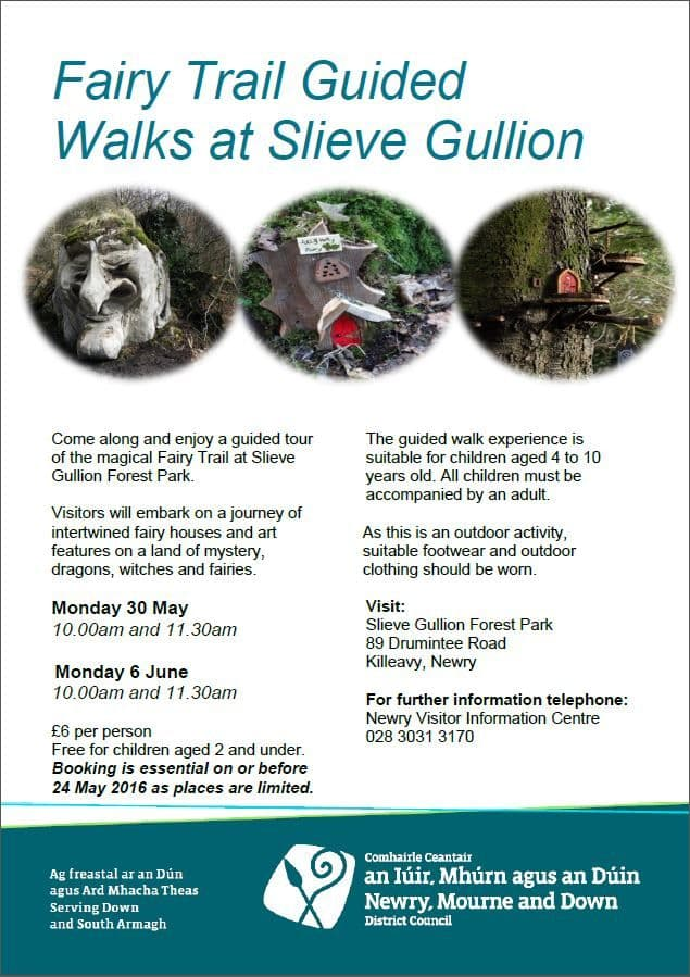Slieve Gullion Forest Park Hosts Fairy Trail Guided Walks