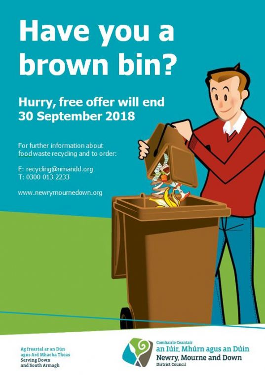 Brown Bins Still Available for Residents