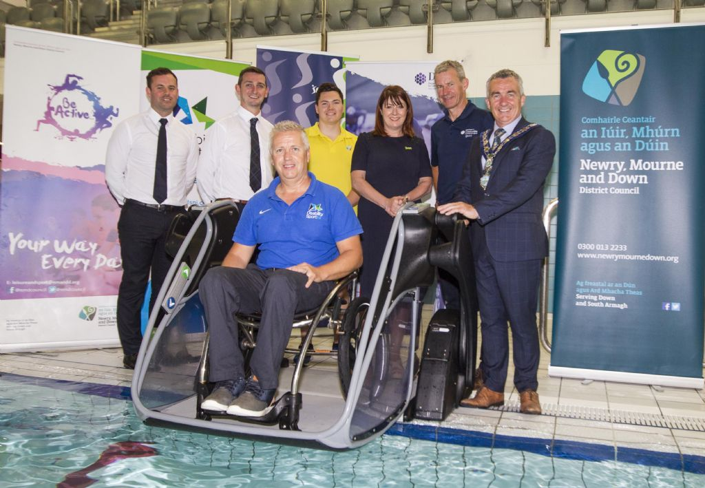 Getting into the Swim: Pool Pods Come to Newry Leisure Centre