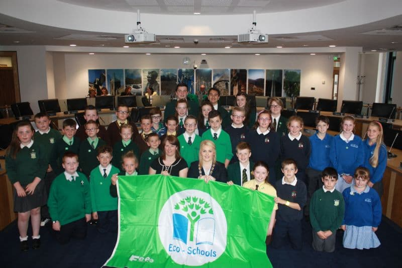 LOCAL SCHOOLS RECEIVE PRESTIGEOUS GREEN FLAGS