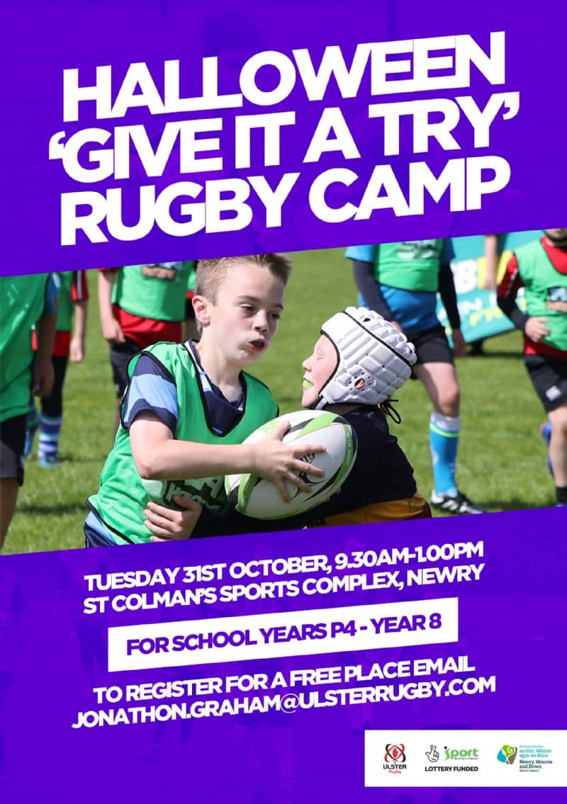 Halloween 'Give It a Try' Rugby Camp