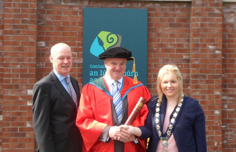 Local Man Receives Honorary Doctorate from Ulster University